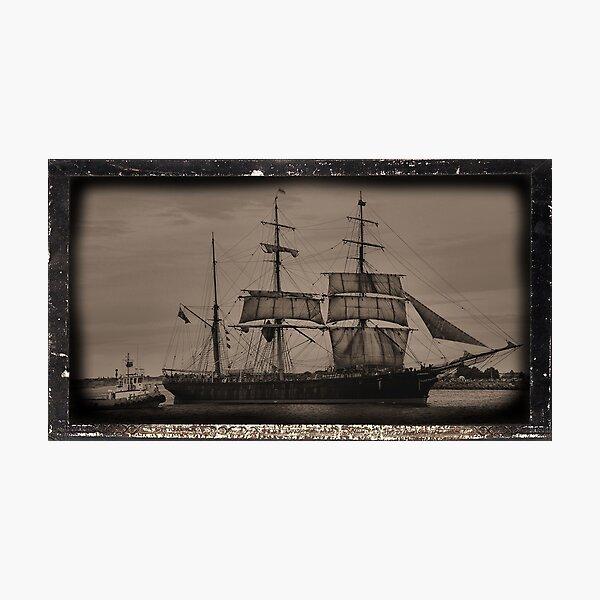 The James Craig - Tall Ship - Newcastle NSW Australia Photographic Print