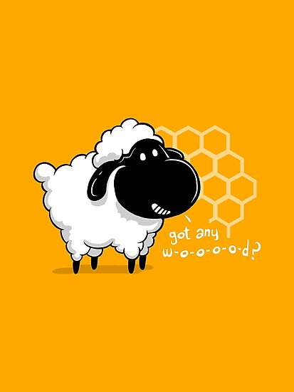 Catan You Give Me Wood? | Settlers of Catan Board Game Geek Sheep by BootsBoots