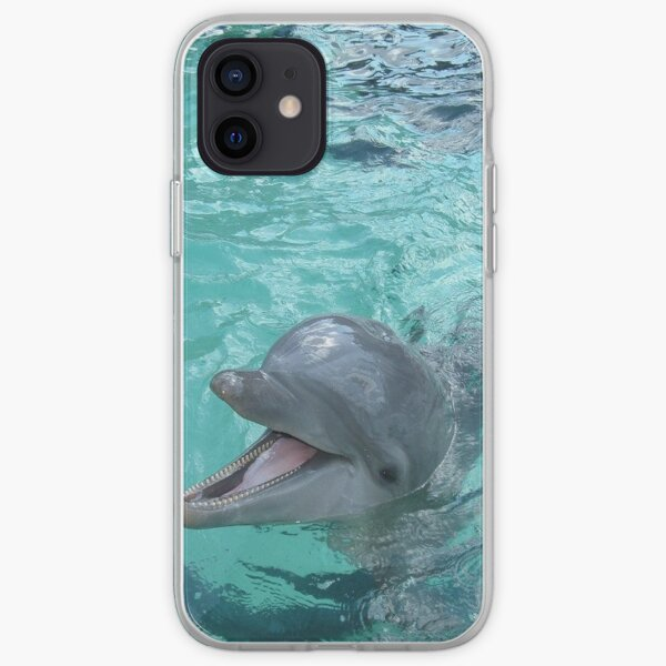 Beautiful Dolphin iPhone Soft Case