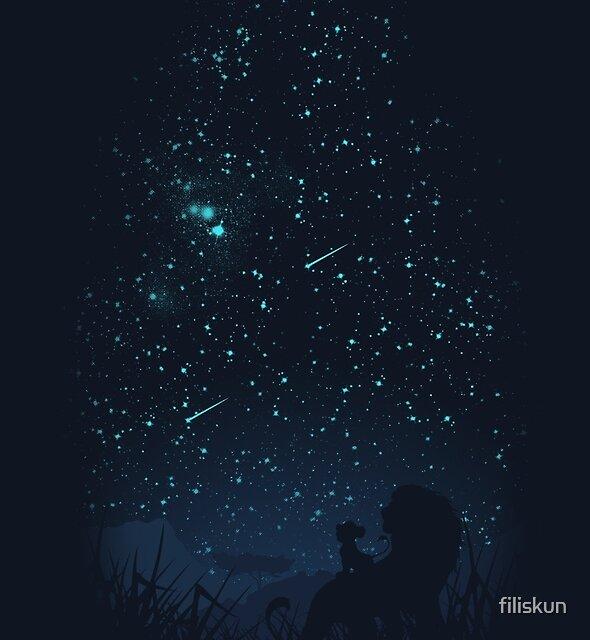 Under The Stars by filiskun