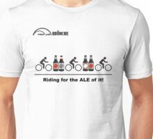 Cycling T Shirt - Riding for the ALE of it Unisex T-Shirt