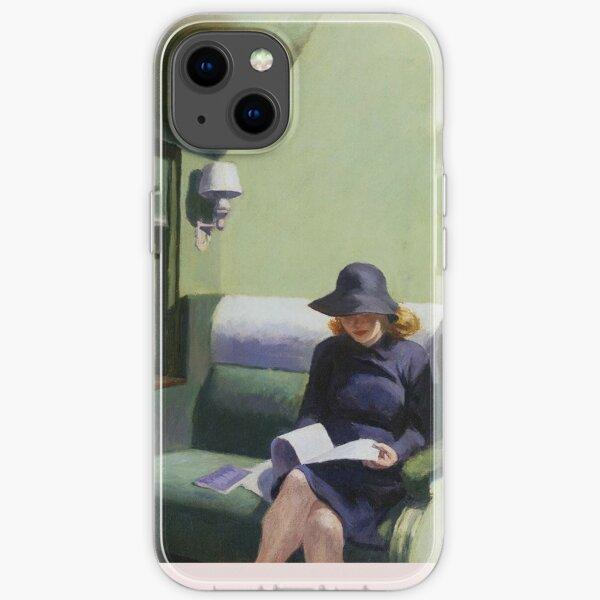 AMERICAN ARTIST. Compartment Car, Edward Hopper. 1938. iPhone Soft Case