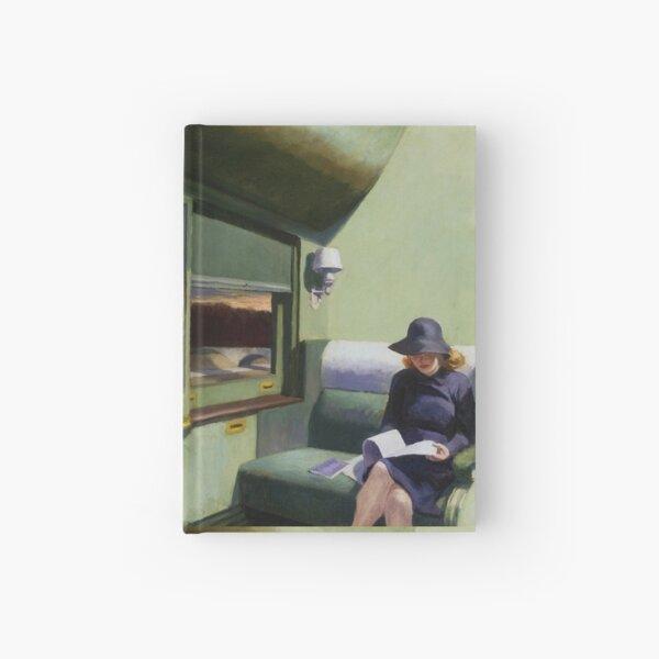 AMERICAN ARTIST. Compartment Car, Edward Hopper. 1938. Hardcover Journal
