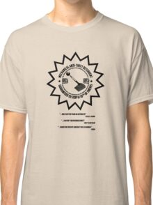 Mechanical Anti-Theft Systems Classic T-Shirt