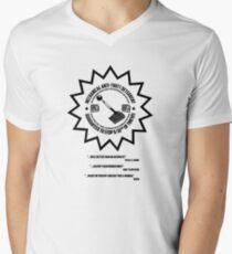 Mechanical Anti-Theft Systems Men's V-Neck T-Shirt