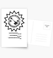 Mechanical Anti-Theft Systems Postcards