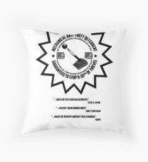 Mechanical Anti-Theft Systems Throw Pillow