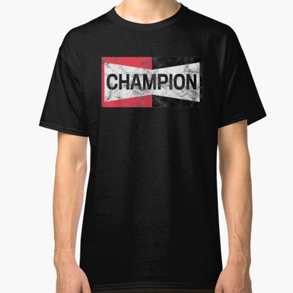Distressed Champion Motor Sports Retro Spark Plug Gift Classic T-Shirt