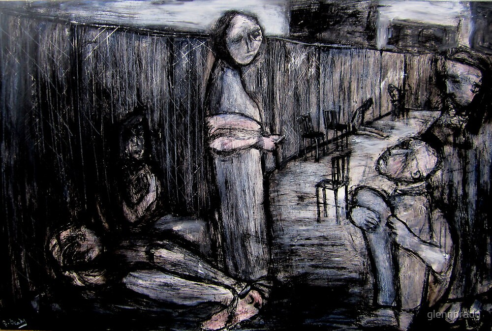 patients in the yard by glennbrady