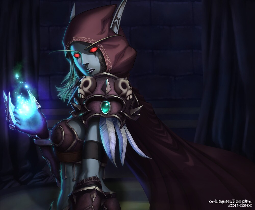 Sylvanas Windrunner by Nancy Teeple