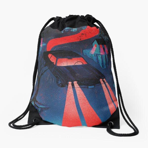 Take a ride Drawstring Bag