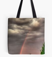 before the storm front hits Tote Bag