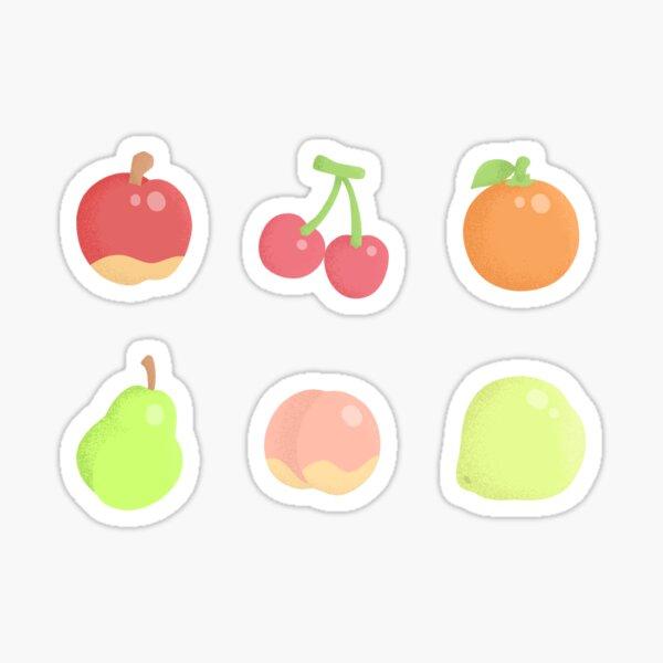 Animal Crossing New Horizons Fruits Sticker
