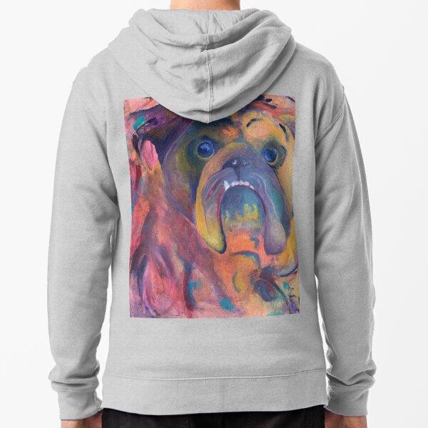 Bulldog Zipped Hoodie