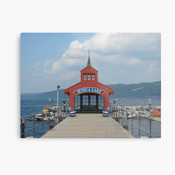 Seneca Lake - Watkins Glen Metal Print