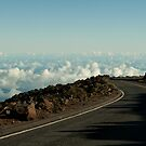 Driving Above the Clouds of Maui by aMillionWordsCa