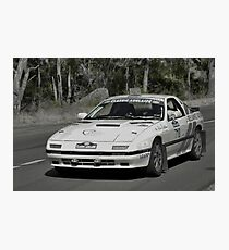 Mazda RX7 Turbo - 1981 Photographic Print