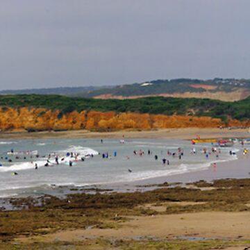 Torquay Surf Beach Summer of 2011-12 by janjuc