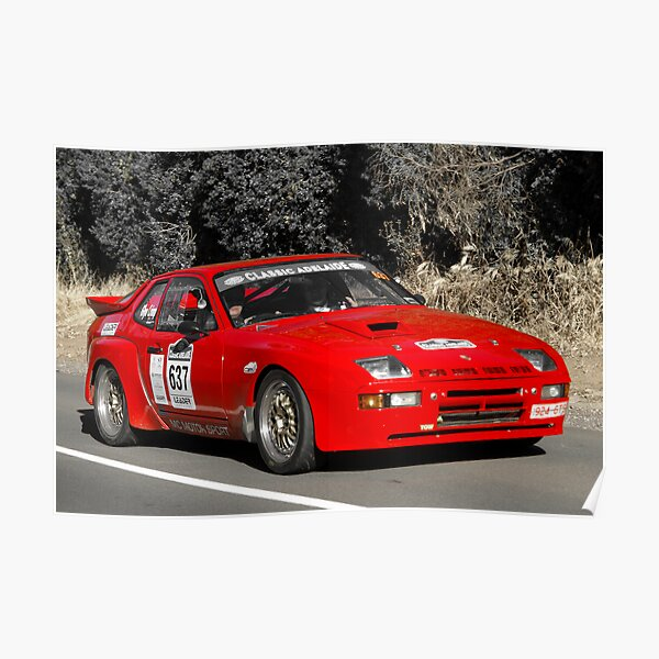 Racing Pillow Case Classic Rally Car Retro 70 Off Road Track Team