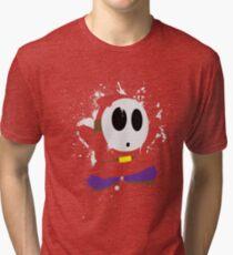 Splattery Shy Guy Style 1 Tri-blend T-Shirt