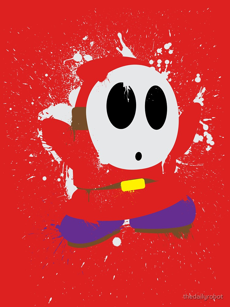 Splattery Shy Guy Style 1 by thedailyrobot