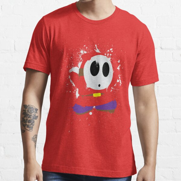 Splattery Shy Guy Style 1 Essential T-Shirt