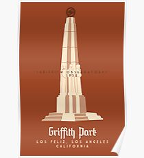 Griffith Park: The Observatory Poster