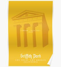 Griffith Park: The Greek Theatre Poster