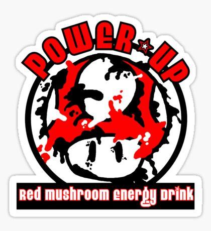 Power-Up Energy Drink Sticker