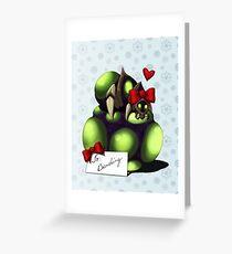 Christmas Baneling Greeting Card