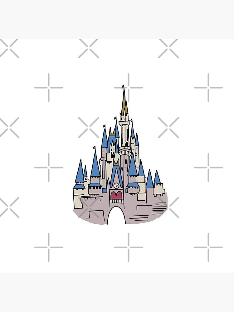 castle by amandalagarde