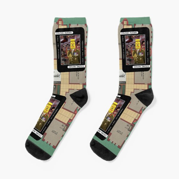 Colonel Mustard Socks