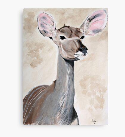 Kudu Beauty Canvas Print