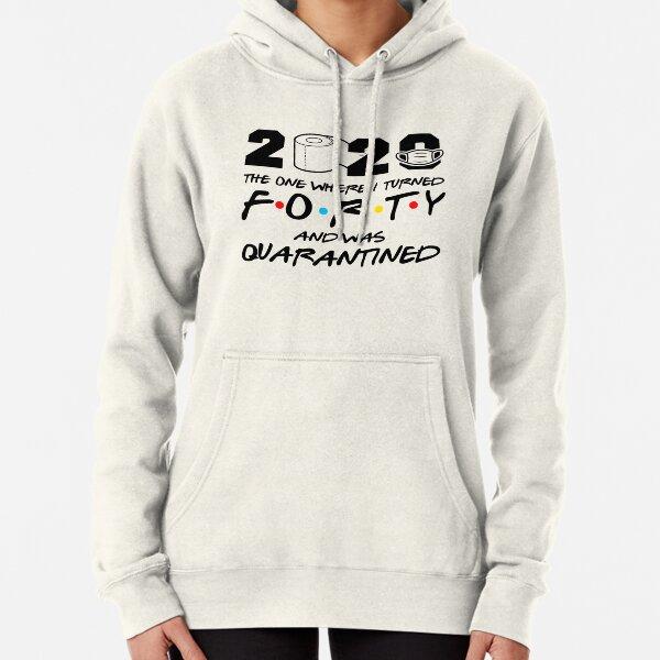 LOOKS FEELS ..HOODIE FUNNY SLOGAN MEN 40 40TH FORTY BIRTHDAY GIFT PRESENT