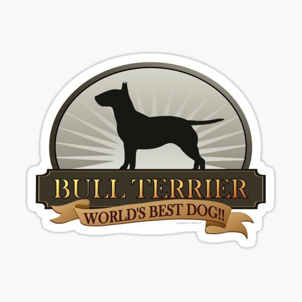 World's Best Dog - Bull Terrier Sticker