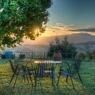 Tuscan Sunset by vivsworld