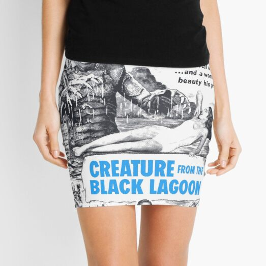 Creature from the Black Lagoon  Mini Skirt