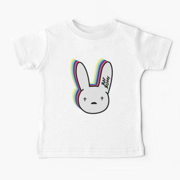 El logo de Bad Bunny Camiseta para bebés