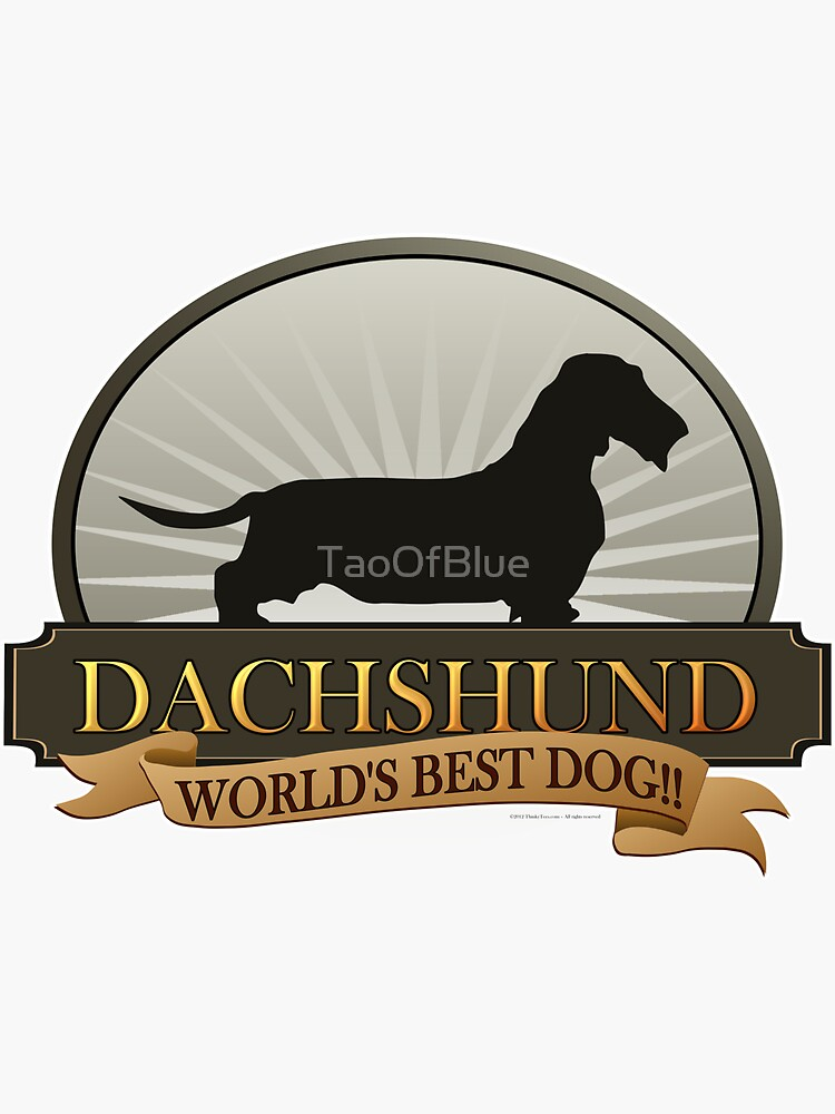 World's Best Dog - Dachshund (Wire-haired) by TaoOfBlue