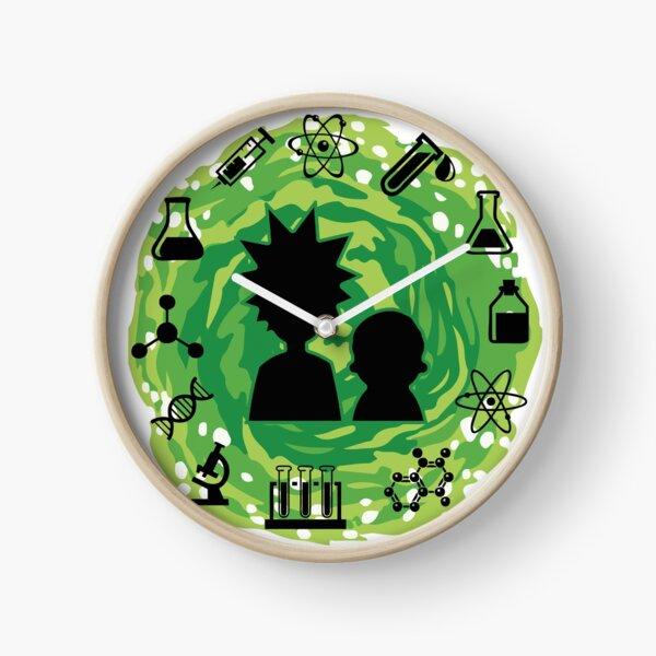 Rick and Morty t shirt - Portal Science Wubba Lubba Dubb Dubb Bestseller Merch Hoodie Hat  Clock