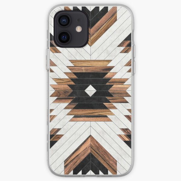 Urban Tribal Pattern No.5 - Aztec - Concrete and Wood iPhone Soft Case