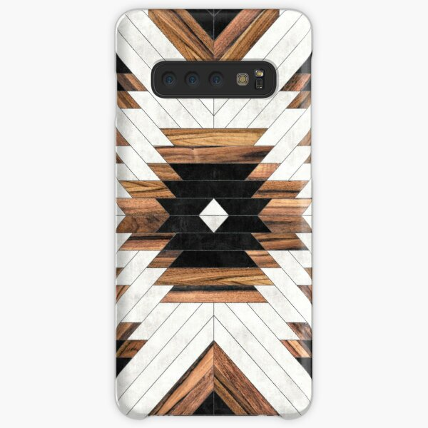 Urban Tribal Pattern No.5 - Aztec - Concrete and Wood Samsung Galaxy Snap Case