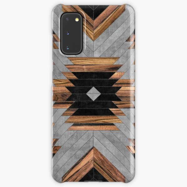 Urban Tribal Pattern No.6 - Aztec - Concrete and Wood Samsung Galaxy Snap Case