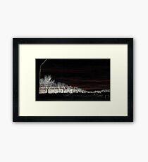 Black Friday, White Edge Art 1 Framed Print