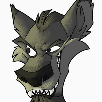 Grey wolf head with shading  by Encsi-gryphon