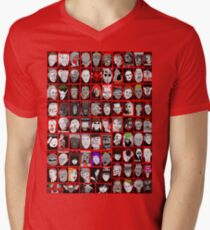 Faces of Horror Collage art T-Shirt