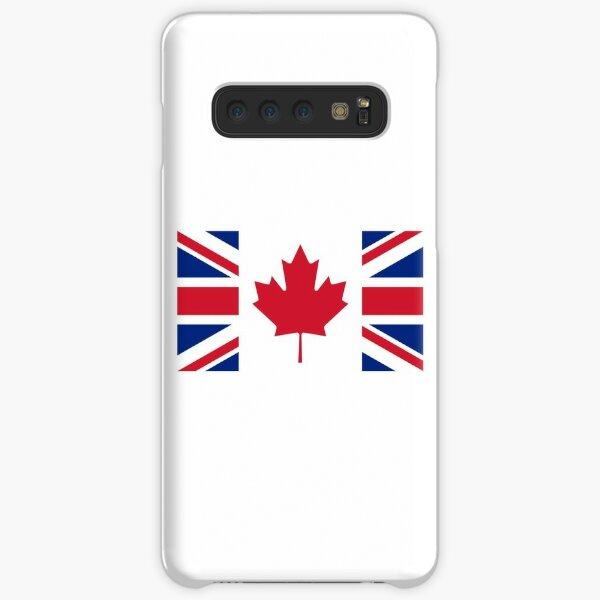 Canada/U.K. Flag Mashup Samsung Galaxy Snap Case