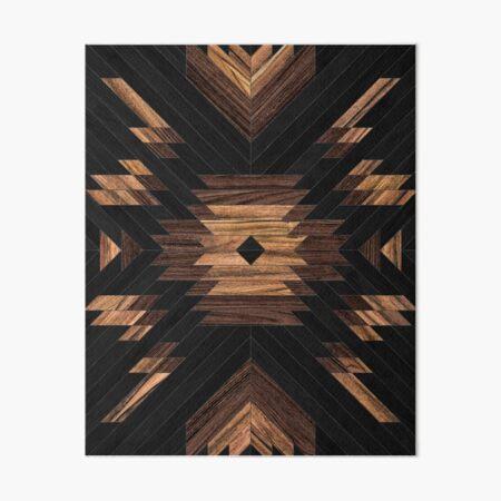 Urban Tribal Pattern No.7 - Aztec - Wood Art Board Print