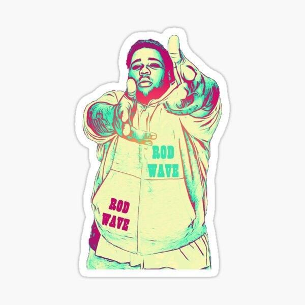 The Rod Wave Tour Sticker