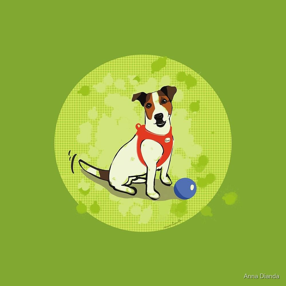 Best friend. Dog. Jack Russell. by Anna Dianda